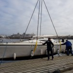 Maxus 28 спуск на воду